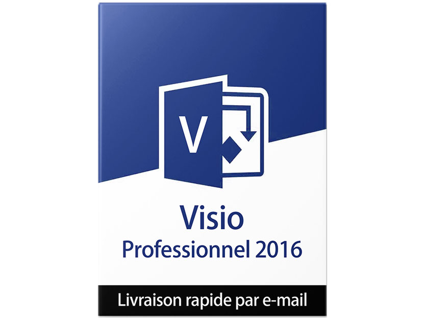 microsoft visio professional 2016 cl d 39 activation visio 2016 professionnel 2016 licence. Black Bedroom Furniture Sets. Home Design Ideas